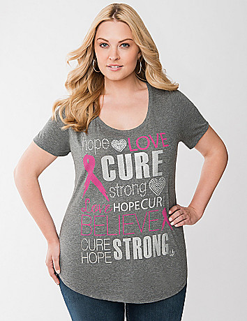 Awareness Cure graphic tee