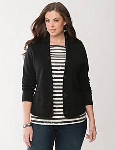Milano stitch jacket by LANE BRYANT
