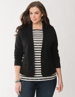 Milano stitch jacket