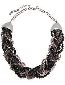 Braided necklace by Lane Bryant