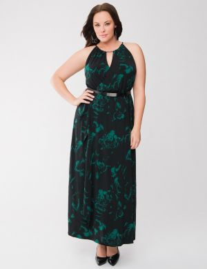 Lane Collection floral maxi dress