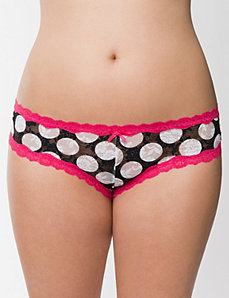 Lace cheeky panty by LANE BRYANT