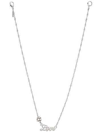 Love necklace by Lane Bryant