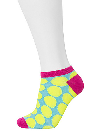 Polka dot sport socks 3-pack