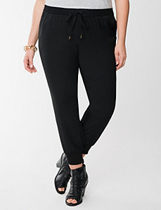 Lane Collection crepe soft pant by LANE BRYANT
