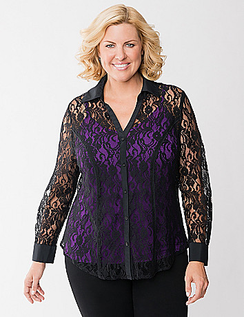 The Perfect Lace Shirt