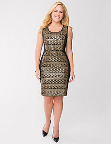 Sequin sheath dress by LANE BRYANT