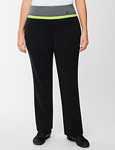 Sparkle waist yoga pant by LANE BRYANT