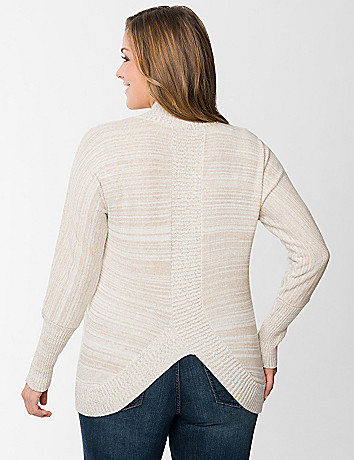 Plus Size Tulip Back Cardigan by Lane Bryant