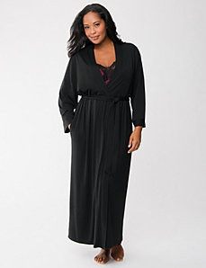 Tru to You long robe by LANE BRYANT