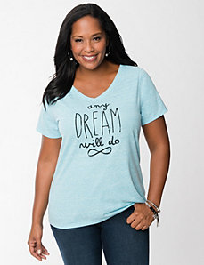 Any Dream tee by LANE BRYANT