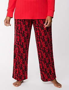 Naughty sleep pant by LANE BRYANT