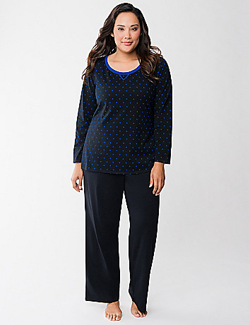 Polka dot PJ set