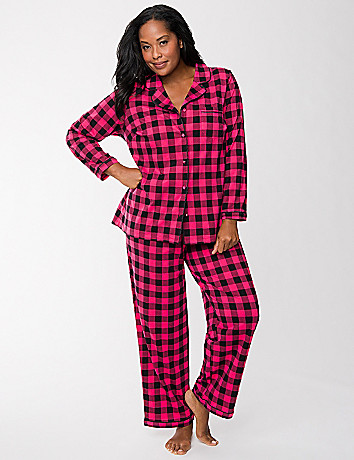 Checkered PJ set