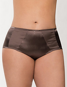 Matte & shine boyshort panty by LANE BRYANT