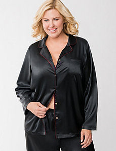 Tru to You charmeuse sleep top by LANE BRYANT