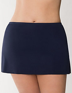 Solid swim skirt by LANE BRYANT