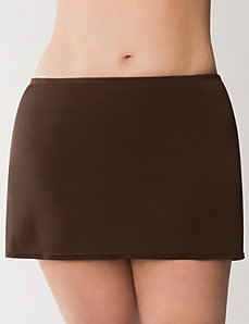 Solid swim skirt