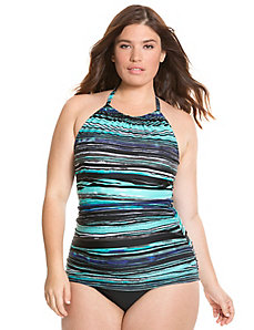High neck swim tank