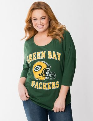 Green Bay Packers 3/4 sleeve tee
