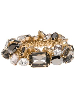 Mixed stone cluster bracelet by Lane Bryant