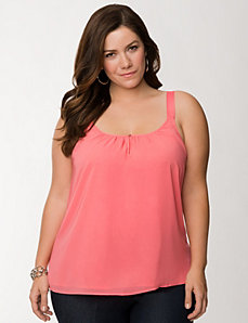 Grosgrain tank by LANE BRYANT