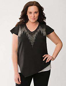 Lane Collection beaded top