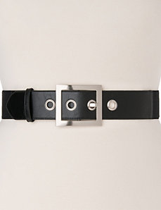 Grommet stretch belt by LANE BRYANT