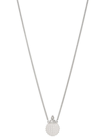 Perfume bottle pendant necklace by Lane Bryant
