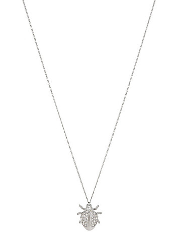 Beetle pendant necklace by Lane Bryant