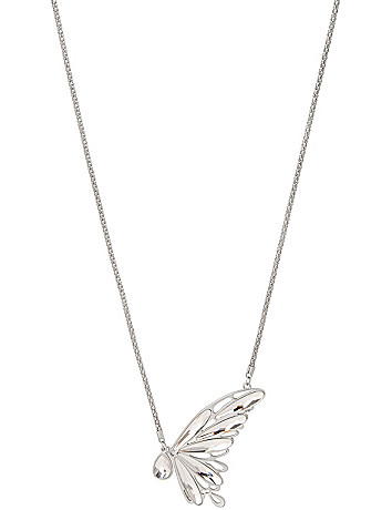 Butterfly pendant necklace by Lane Bryant