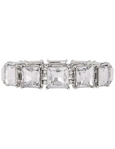 Square stone stretch bracelet by Lane Bryant by LANE BRYANT