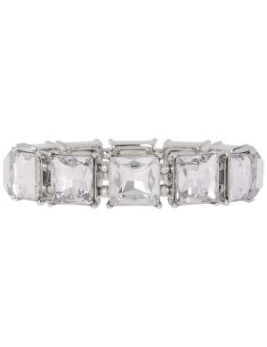 Square stone stretch bracelet by Lane Bryant