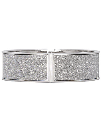 Silver dust hinge bracelet by Lane Bryant