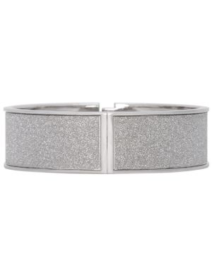 Silver dust hinge bracelet by Lane Bryant