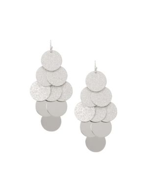 Disc waterfall earrings by Lane Bryant