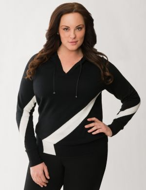 Lane Collection hooded sweater