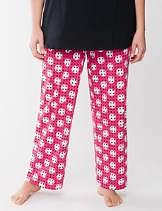 Polka dot sleep pant by LANE BRYANT