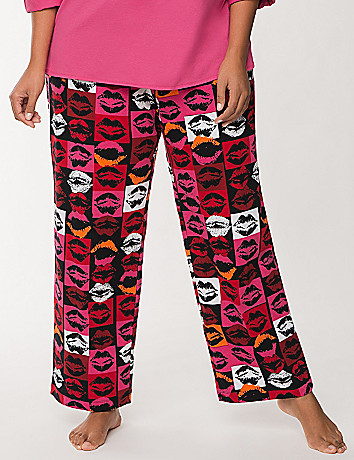 Pop art lips sleep pant