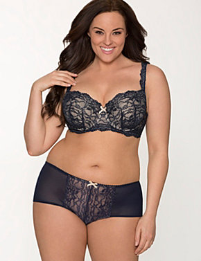 Lace Balconette Bra Ensemble