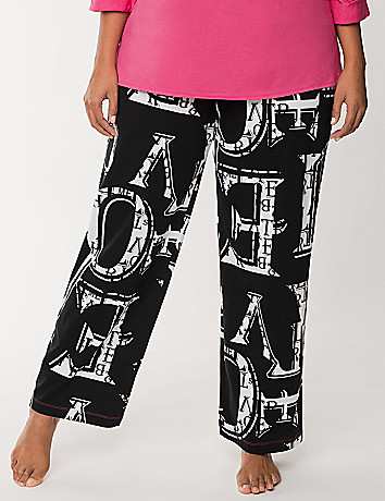Love letters sleep pant
