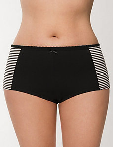 Ruffled Sassy cotton boyshort panty