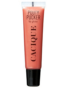 Pouty Pucker Miami Mango lip gloss