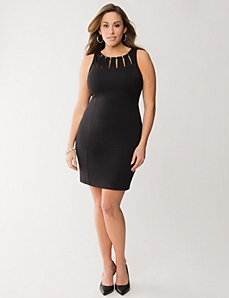 Hardware shift dress by LANE BRYANT
