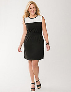 Embellished sheath dress by LANE BRYANT