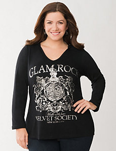 Glam Rock hoodie by LANE BRYANT