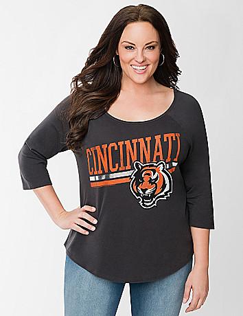 Cincinnati Bengals baseball tee