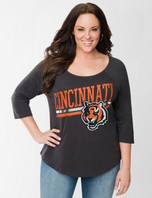 Cincinnati Bengals 3/4 sleeve tee