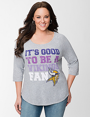 Minnesota Vikings baseball tee