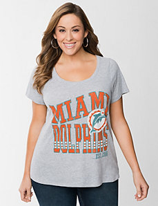 Miami Dolphins graphic tee